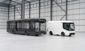 Electric busmaker schedules first UK road trial with First Group buses