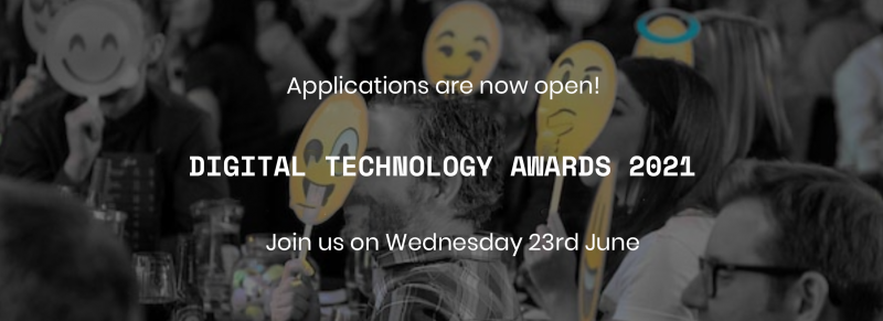 Digital Technology Awards are back for 2021