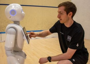 World's First Robotic Squash Coach Being Developed in Scotland